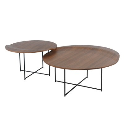Lauzon Round 2 Piece Coffee Table Set