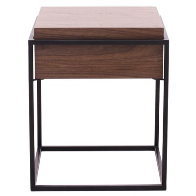 Lavallee End Table with Storage