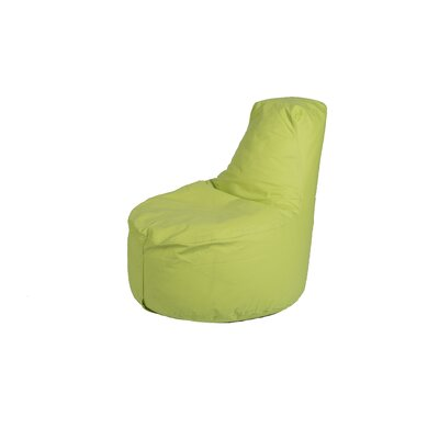 Kids Bean Bag Chair Upholstery: Lime Green