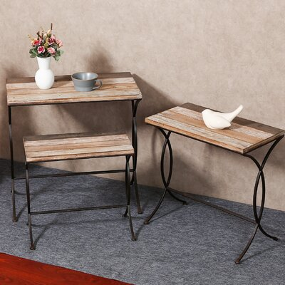 Shira 3 Piece Nesting Tables