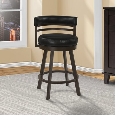 Cutlip Swivel Bar Stool Seat Height: 26