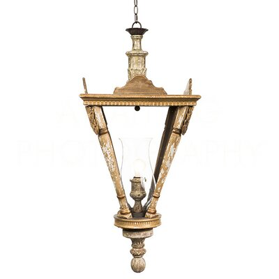 French Small Lantern Pendant