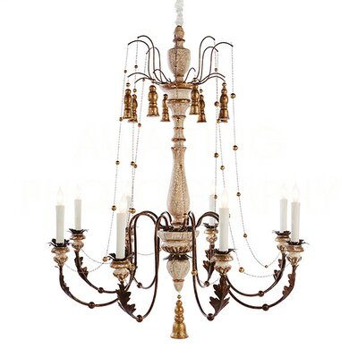 Hillcrest Large Candle-Style Chandelier