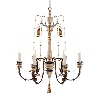 Hillcrest Medium Candle-Style Chandelier