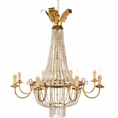 Pommard Candle-Style Chandelier