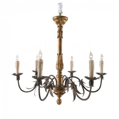 Barton Medium Candle-Style Chandelier