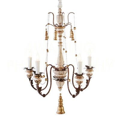 Hillcrest Small Candle-Style Chandelier