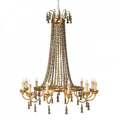 Grand Orleans Candle-Style Chandelier