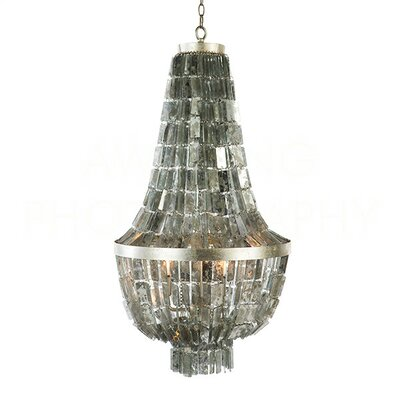 Glendive Mirror Small Empire Chandelier Size: 42 H x 24.25 W x 24.25 D