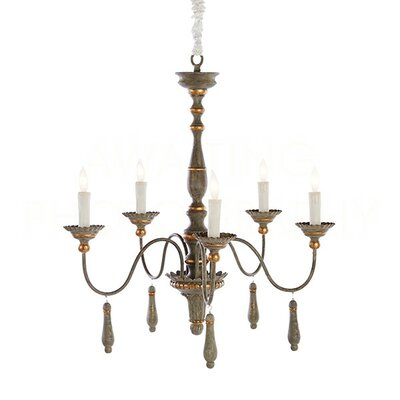 Agen Small Candle-Style Chandelier