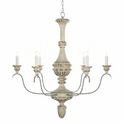 Bianco Candle-Style Chandelier