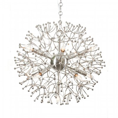 Organic Globe Sputnik Chandelier Finish: Nickel