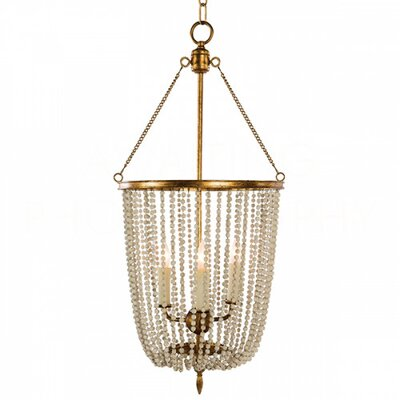Gailey Mini Chandelier Finish: Rustic White