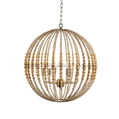 Globe Pendant Finish: Gold