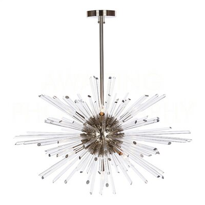 Kepler Sputnik Chandelier Finish: Nickel