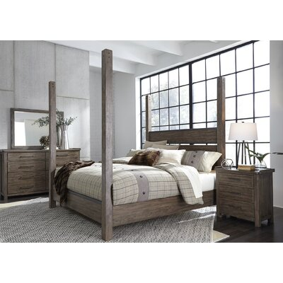 Clayton Panel Headboard and Footboard Size: Queen