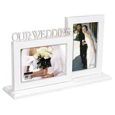 Stancil Our Wedding Platform Picture Frame RDBA4862 45491624