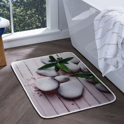 Piantedosi Spa Foam Core Comfort Bath Rug Size: 20 W x 30 L