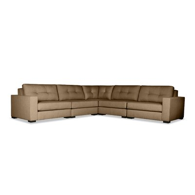Brose Sectional Upholstery: Brown