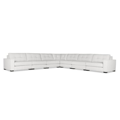 Brose Sectional Upholstery: White