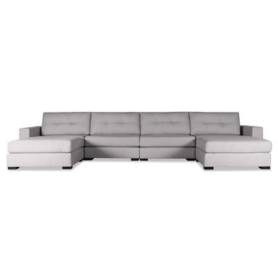 Brose Sectional Upholstery: Gray