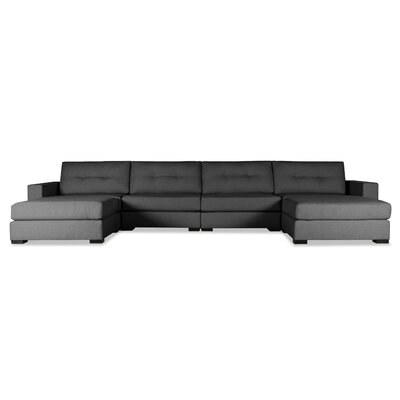 Brose Sectional Upholstery: Charcoal