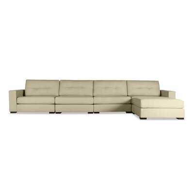 Brose Sectional Upholstery: Sand, Orientation: Right Hand Facing