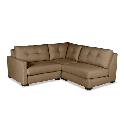 Secrest Sectional Upholstery: Brown, Orientation: Left Hand Facing