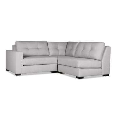 Brose Sectional Upholstery: Gray, Orientation: Left Hand Facing