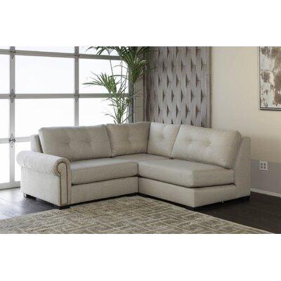 Lebanon Plush Deep Modular Sectional Upholstery: Sand, Orientation: Left Hand Facing 6953BA37C2AB4055B151A888B1A017B3