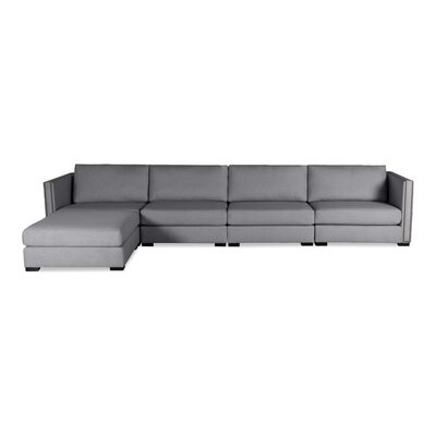 Timpson Chaise Modular Sectional Upholstery: Gray, Orientation: Left Hand Facing