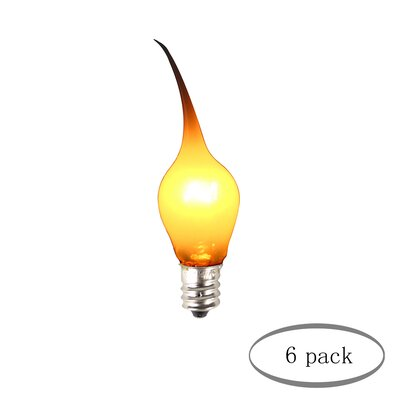 6W E12/Candelabra Incandescent Light Bulb