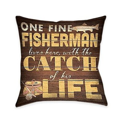 Sierocka Fine Fisherman Throw Pillow