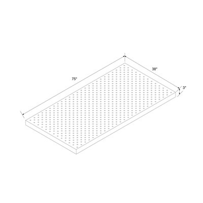 3 Memory Foam Mattress Topper Bed Size: Twin