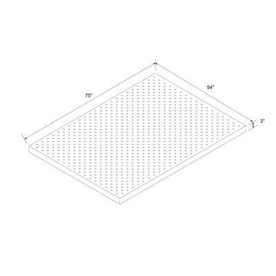 3 Memory Foam Mattress Topper Bed Size: Full