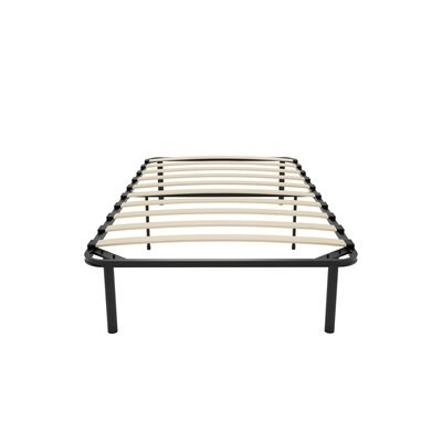 Platform Bed with Euro Wood Slats Size: Twin