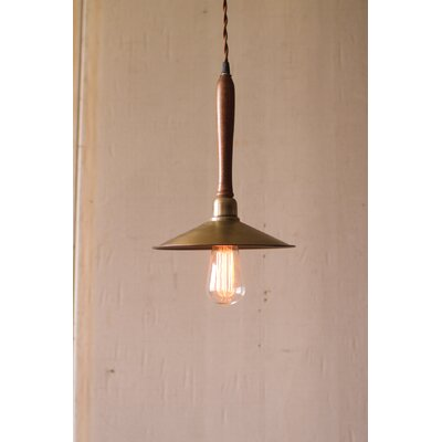 1-Light Cone Mini Pendant