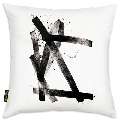 Rachal Passive Strokes Throw Pillow