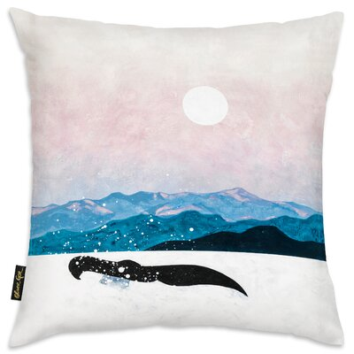Rachele Soft Winters Flow Throw Pillow