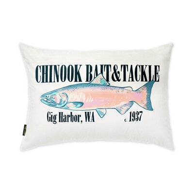 Timmins Bait & Tackle Lumbar Pillow