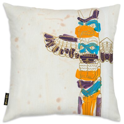 Baretta Lace Totem Throw Pillow