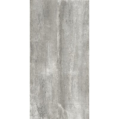Blocks 12 x 24 Porcelain Field Tile in Light Gray