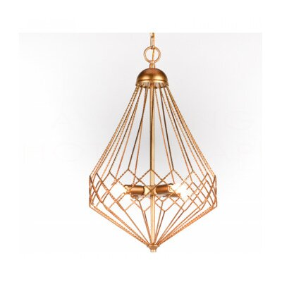 Chan Geo Mini Pendant Finish: Gold