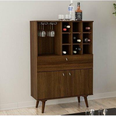 Weiser Elegant Bar Cabinet