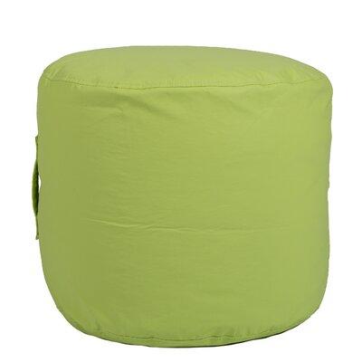 Wayman Round Ottoman Upholstery: Lime Green
