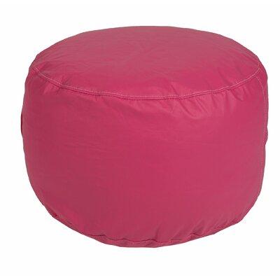 Wayman Round Ottoman Upholstery: Hot Pink