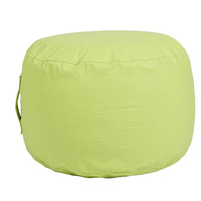 Wayman Round Ottoman Upholstery: Lime Green