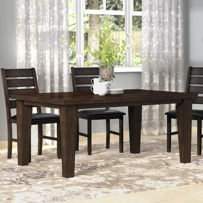 Stanley Extendable Dining Table Finish: Expresso