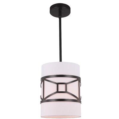Hultgren 1-Light Mini Pendant Finish: Bronze