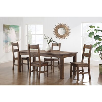 Wulfeck Rustic Style Dining Table